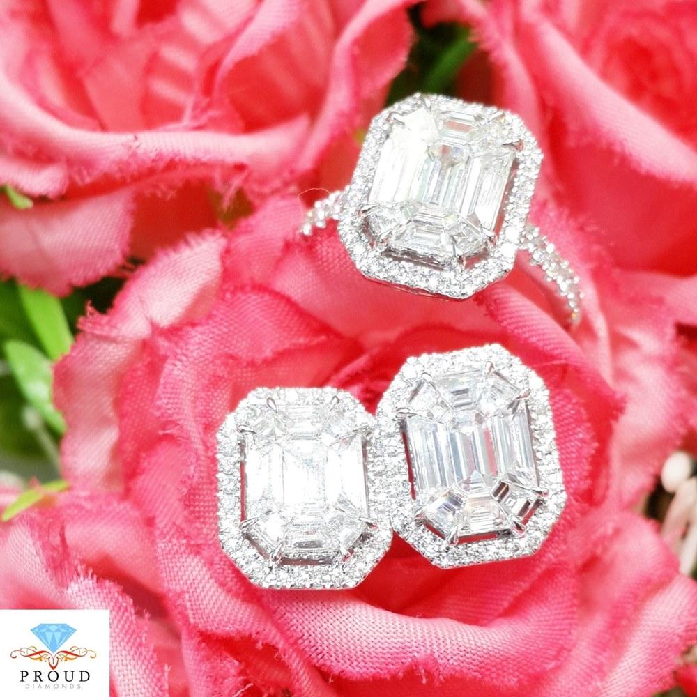 แหวน Emerald Cut