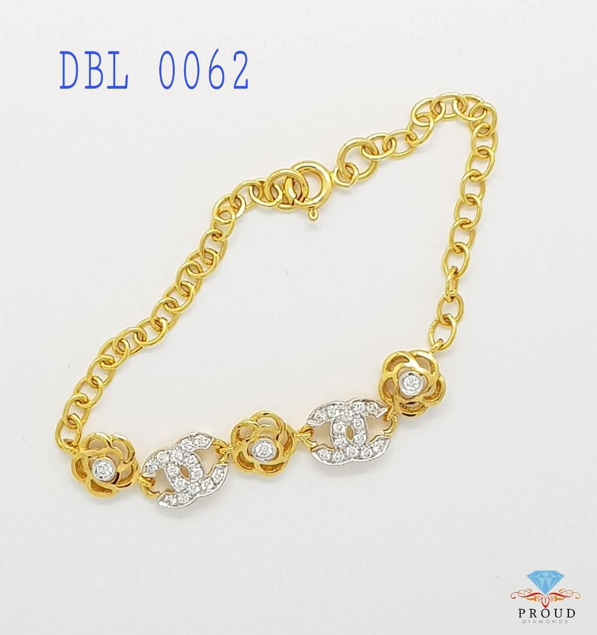 สร้อยข้อมือเพชร Chanel DBL 0062