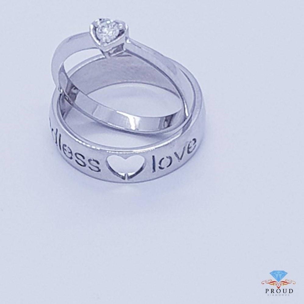 แหวนเพชรคู่ Endless Love CDRG 0173
