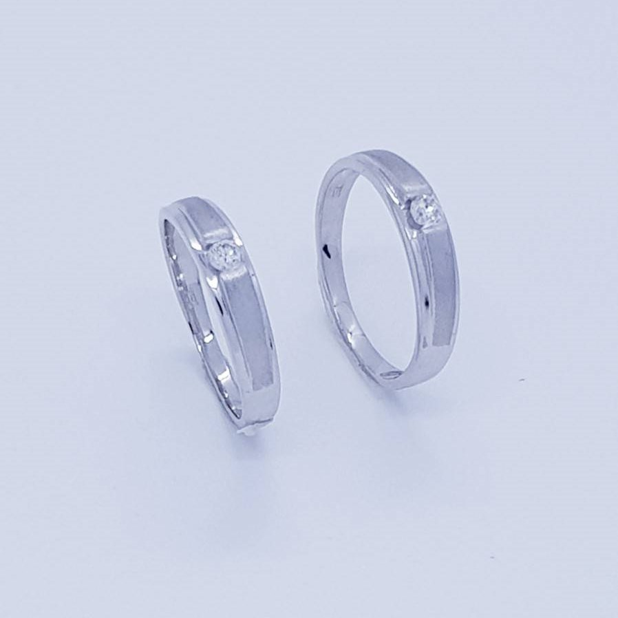 แหวนเพชรคู่ Classic Love CDRG 0166