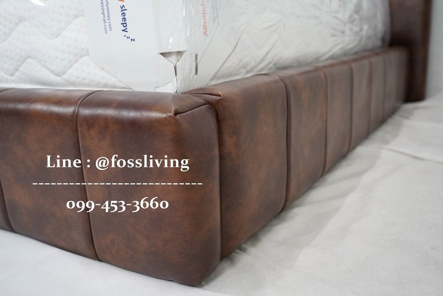 เตียงนอน รุ่น Dyan (Zolf Leather)