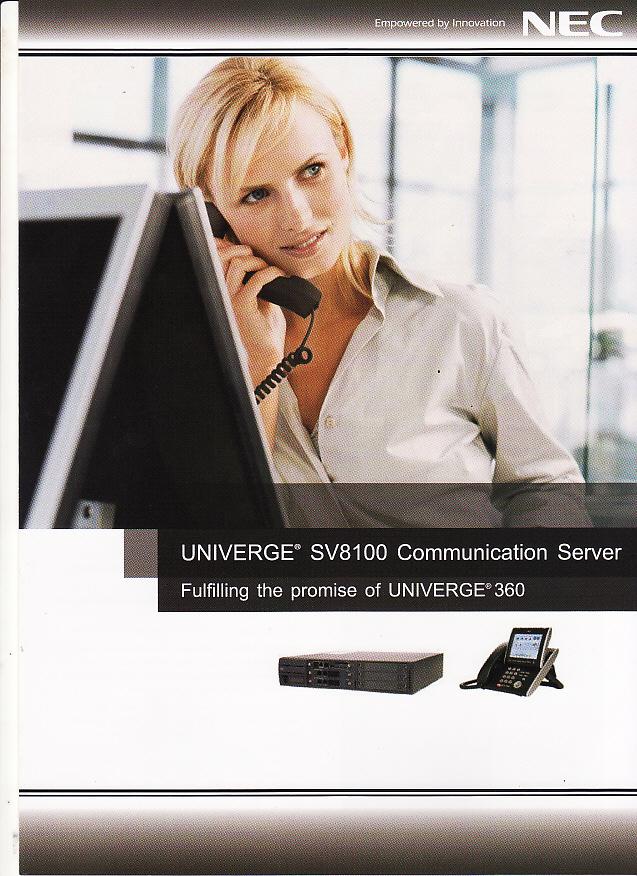 ตู้สาขาโทรศัพท์ NEC SV8100