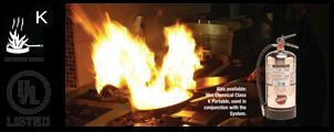 ระบบดับเพลิงในห้องครัว NFPA 17A และ 96