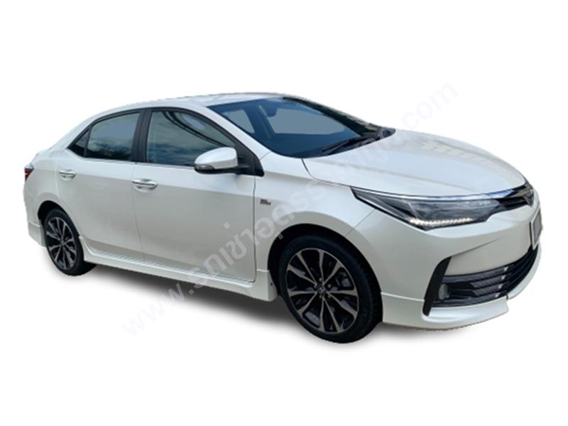 ให้เช่ารถยนต์ Toyota Altis
