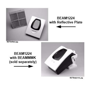 เครื่องตรวจจับควันชนิดสะท้อนแสงแบบปลายเดี่ยว รุ่น Beam B1224