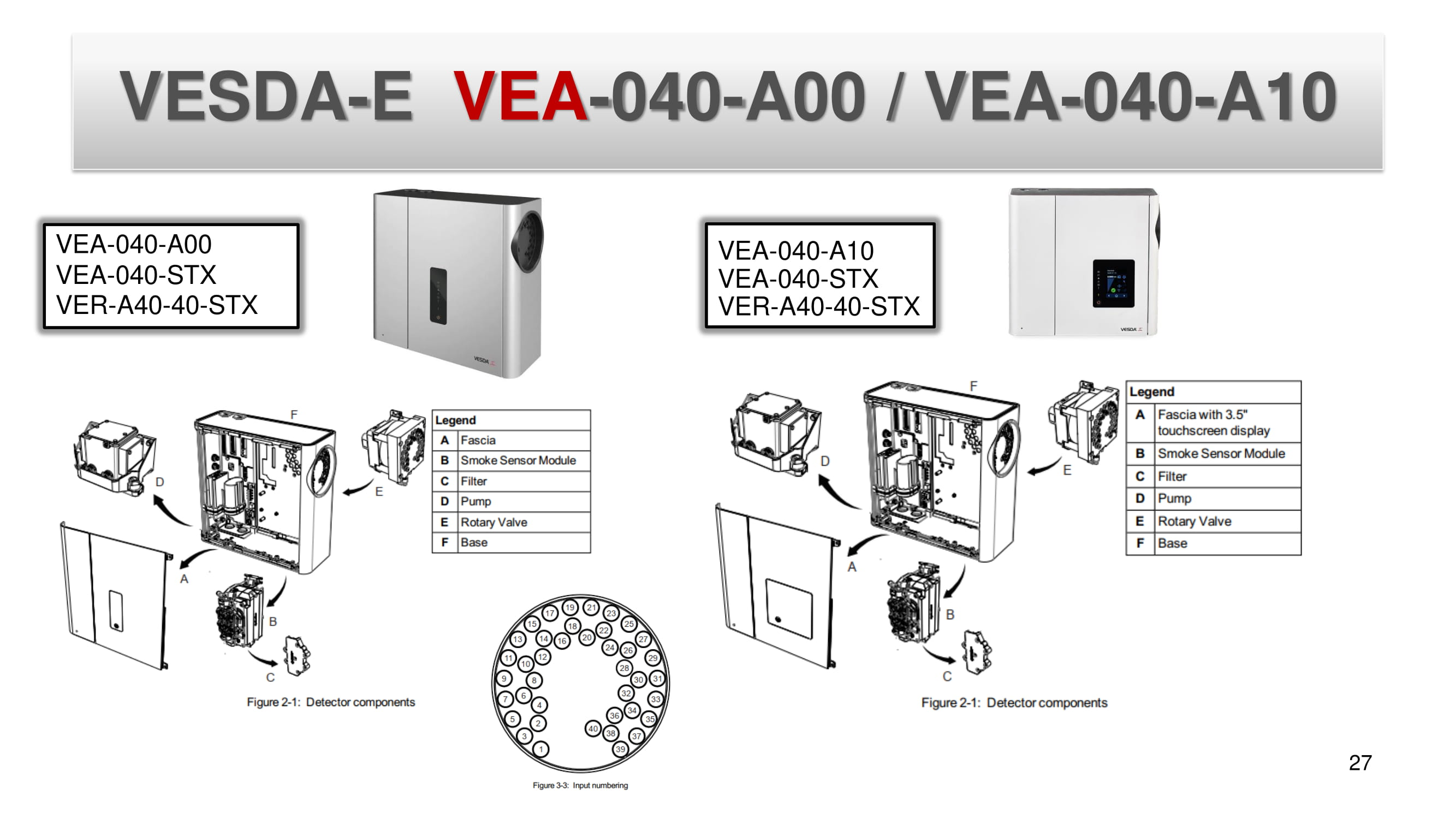 VESDA-E  VEA-040-A00