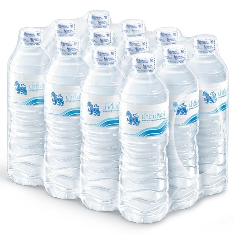 (แพ็ค) สิงห์ น้ำดื่ม 600มล. (1*12)
