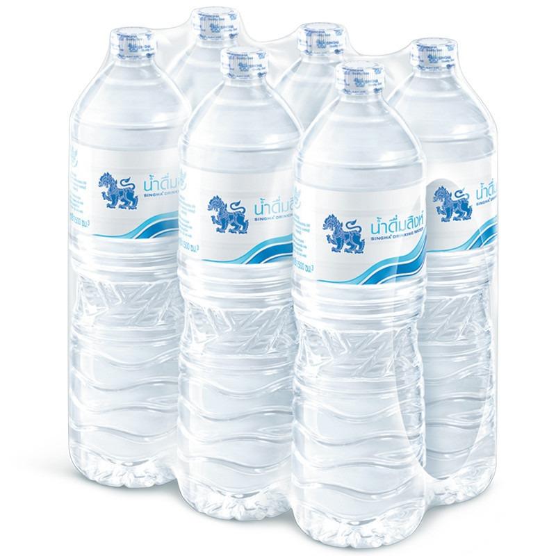 (แพ็ค) สิงห์ น้ำดื่ม 1500มล. (1*6)