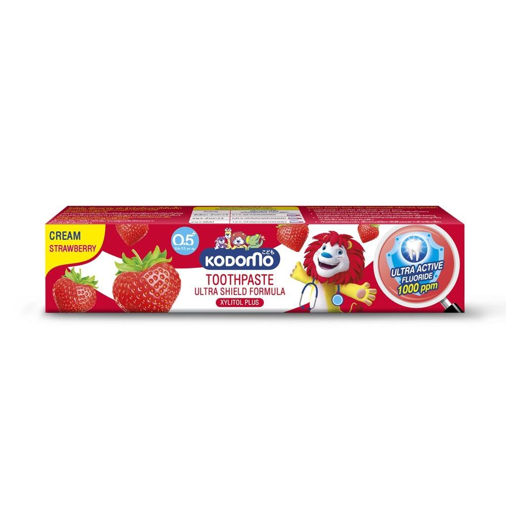 (หลอด) ยาสีฟันโคโดโม ครีมสตรอ 40กรัม.