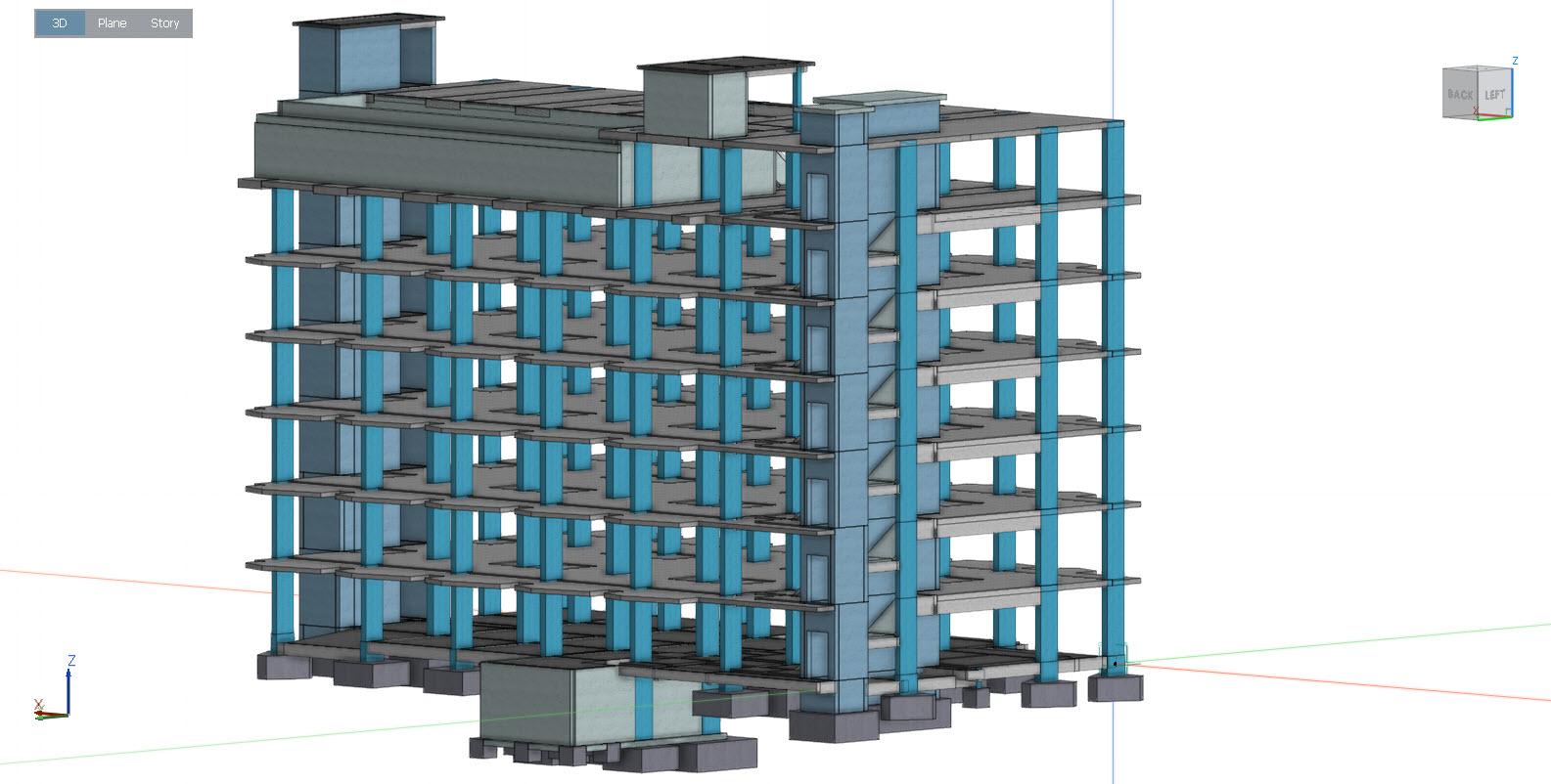 รับออกแบบโครงสร้างคอนโดมิเนียม