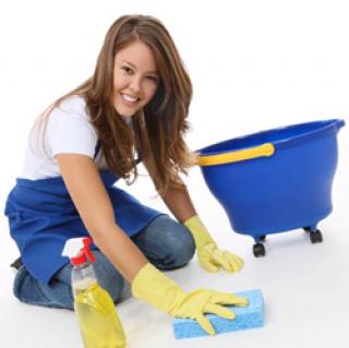 รับทำความสะอาดพื้น