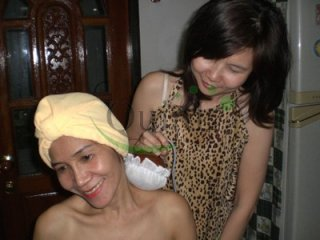 Spa and Herbal Ball Massage