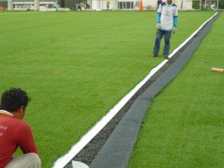 หญ้าเทียมสนามฟุตบอล