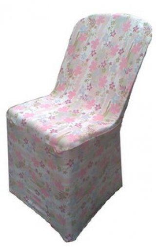 ผ้าคลุมเก้าอี้พลาสติก ผ้าสเปนเน็ท