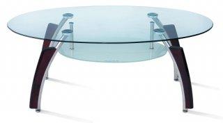 ชุดโต๊ะกลางกระจก