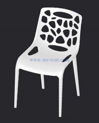 เก้าอี้ pp สีขาว CP07