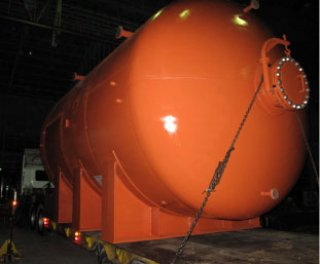 Clean Dump Tarbine Lube Oil Tank