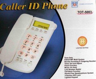 เครื่องโทรศัพท์ TOT 5003 CID