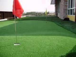 หญ้าเทียมสำหรับพัดกอล์ฟ