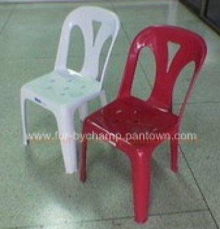 เก้าอี้พลาสติก มีพนักพิง รุ่น 2.1 กก.