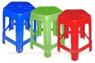 เก้าอี้พลาสติกหัวโล้น 5 ขา