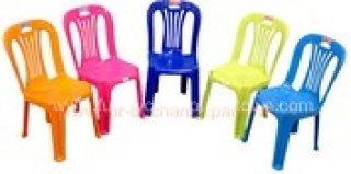 เก้าอี้พลาสติก มีพนักพิงของเด็ก