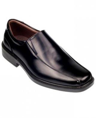 รองเท้าหนังผู้ชายสีดำ รุ่น VICTORY