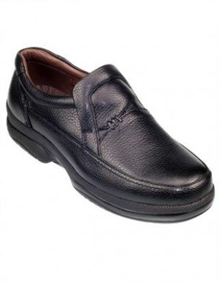 รองเท้าหนังสีดำ รุ่น SPIC