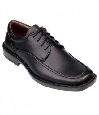 รองเท้าหนังสีดำ รุ่น FORWARD