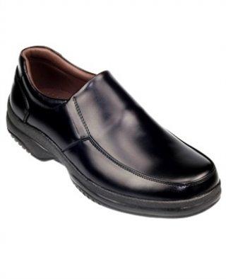 รองเท้าหนังสีดำ รุ่น SURVEY