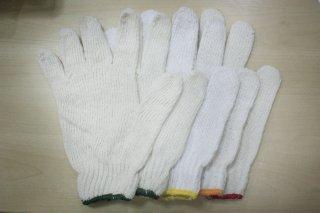 ถุงมือถัก