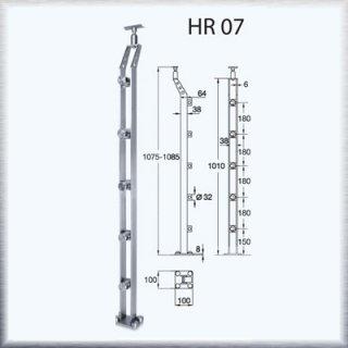 ราวบันได HR07