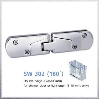 บานพับประตูกระจกห้องน้ำ SW302