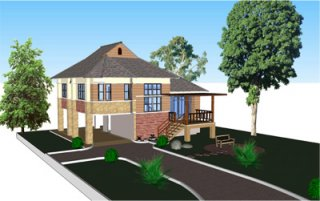 รับออกแบบบ้านขอนแก่น