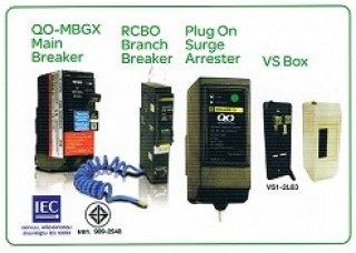 อุปกรณ์ป้องกันไฟดูดไฟรั่ว 1 โพล 2 โพล สแควร์ดี