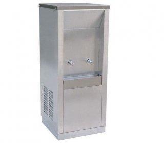 ตู้ทำน้ำเย็นแบบต่อท่อประปา 1 ก๊อก (MC-1P)หน้าเรียบ
