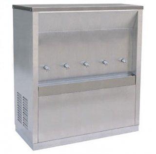 ตู้ทำน้ำเย็นแบบต่อท่อประปา 5 ก๊อก (MC-5P)