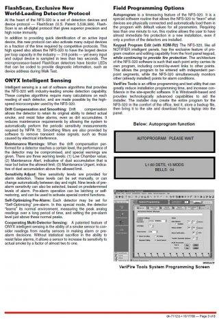 ระบบแจ้งเพลิงไหม้ Notifier NFS-320