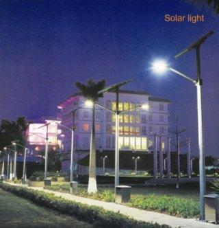 โคมไฟริมถนนพลังงานแสงอาทิตย์