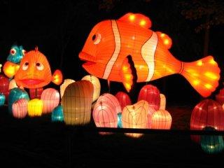 เทศกาลโคมไฟรูปสัตว์ในทะเล