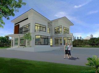 รับเขียนแบบบ้าน 3D เชียงใหม่