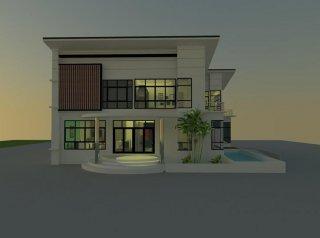 รับออกแบบบ้านเชียงใหม่