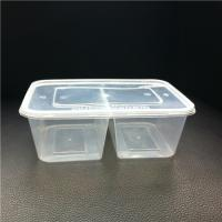 Double Compartments Houseware Food Container 850ml