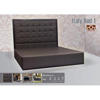เตียงนอนโซฟาหนังแท้ ITALY BED I