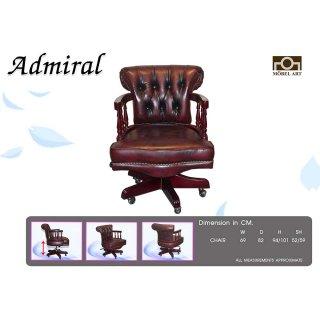 เก้าอี้หนังแท้ ADMIRAL