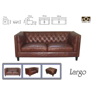 เก้าอี้นวมขนาดใหญ่ LARGO