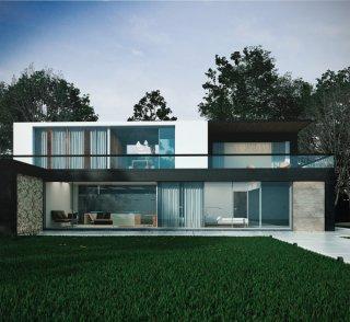 รับเขียนแบบบ้าน อาคาร 3D