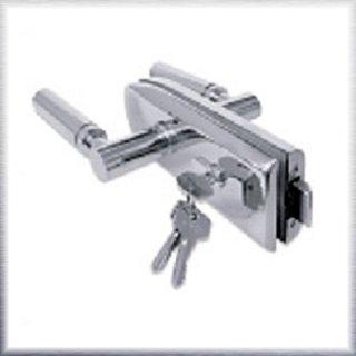 ล็อกประตูกระจกห้องน้ำมีกุญแจล็อค