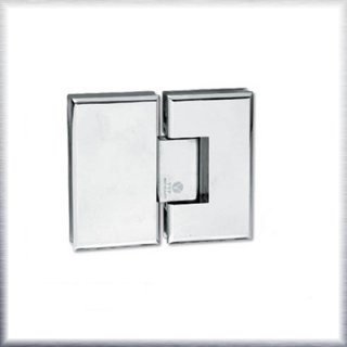 บานพับประตูกระจกห้องน้ำคู่ 180 องศา