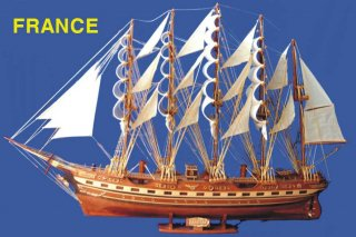 เรือ FRANCE จำลอง